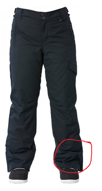 My Ski Pants are too long! How to hem ski pants to make them short?