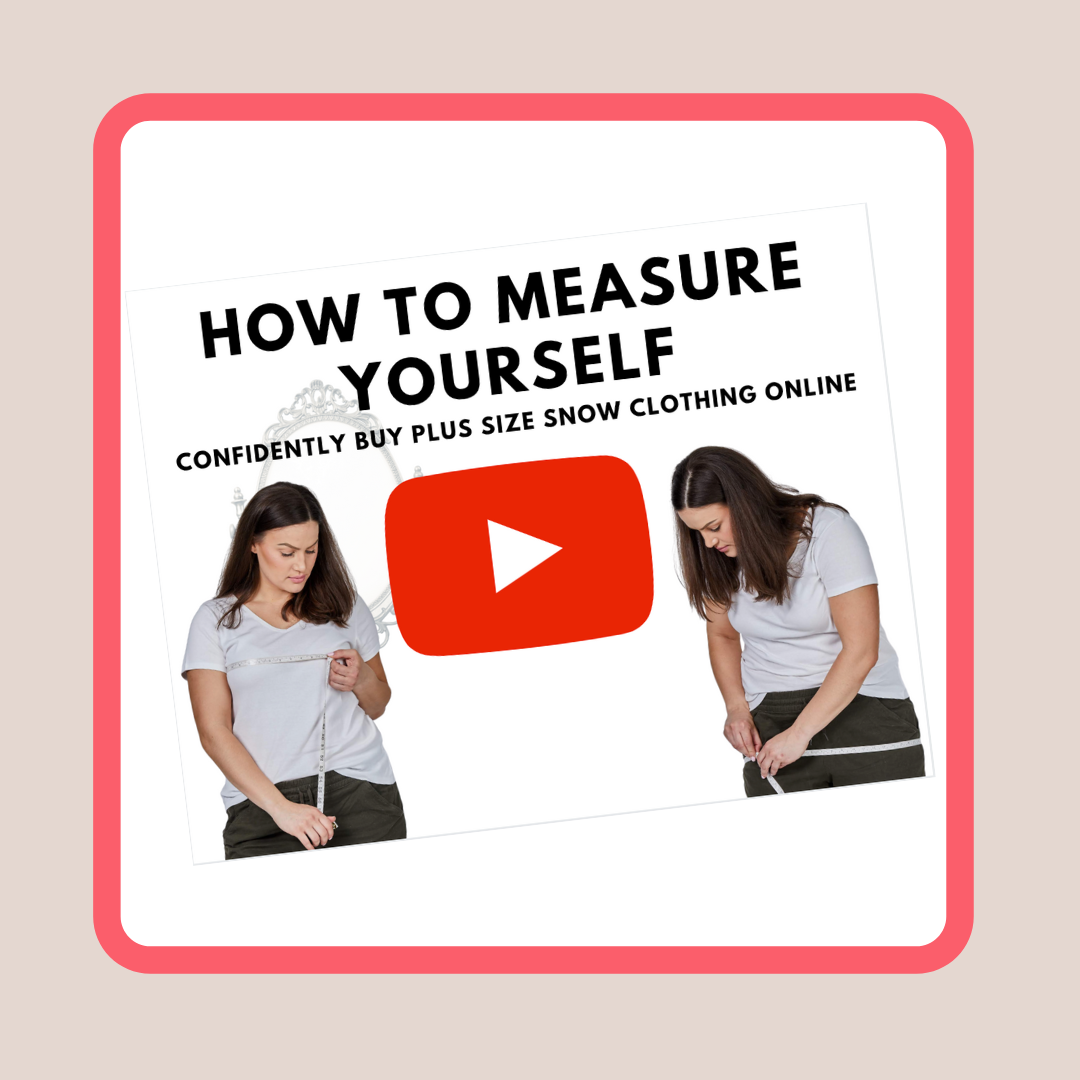 Measuring your body for plus size shopping success video